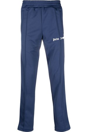 Palm Angels CLASSIC TRACK PANTS NAVY WHITE