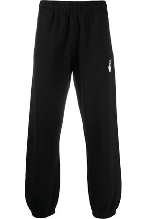 OFF-WHITE MARKER SLIM SWEATPANT FUCHSIA