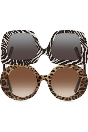 Dolce & Gabbana Chunky double sunglasses