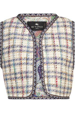 Etro Weste aus Tweed