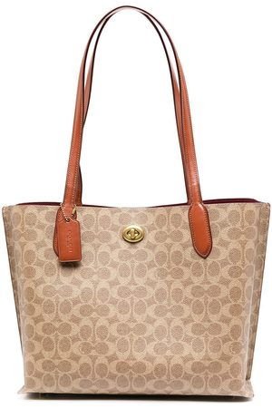 Coach Printed leather tote bag