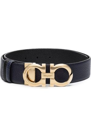 Salvatore Ferragamo Donna Gancini leather belt