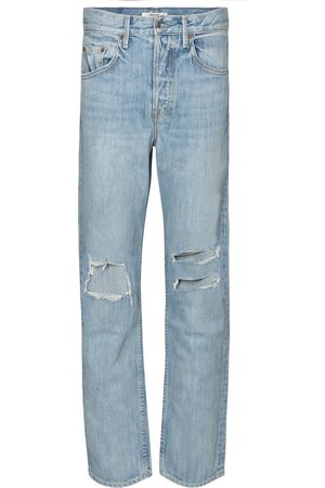 GRLFRND Mid-Rise Jeans Distressed Isabeli