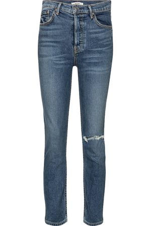 GRLFRND High-Rise Skinny Jeans Reed