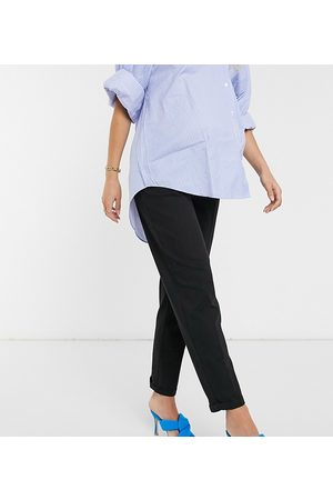 ASOS ASOS DESIGN Maternity chino trousers in with under the bump waistband