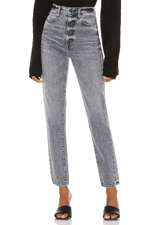 SLVRLAKE Beatnik High Rise Slim Jean in - Charcoal. Size 26 (also in 30).
