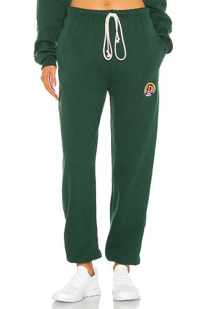 DANZY Classic Collection Sweatpant in - Green. Size L (also in XS, S, M).