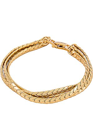 Jenny Damen Armbänder - Priya Layered Bracelet in - Metallic . Size all.