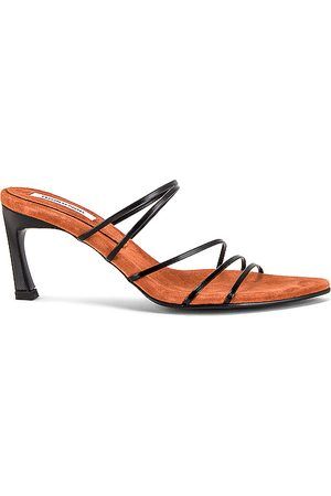 Reike Nen 5 Strings Pointed Sandals in - Black. Size 36 (also in 35.5, 36.5, 37, 37.5, 38, 38.5, 39, 39.5, 40).