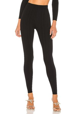 Michael Costello X REVOLVE Knit Ribbed Leggings in - . Size L (also in XXS, XS, S, M, XL).