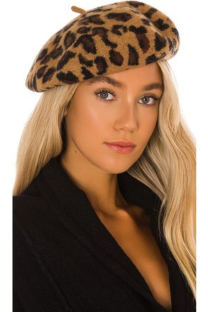 Hat Attack Leopard Beret in - . Size all.