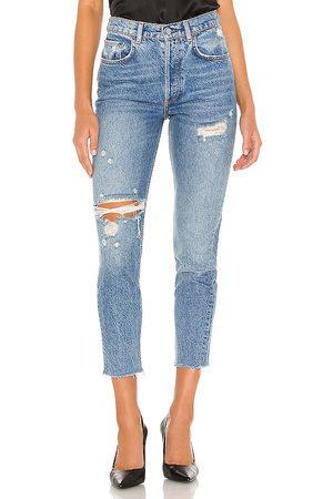 Boyish The Billy Skinny Jean in - Blue. Size 23 (also in 24, 25, 27, 29, 30).
