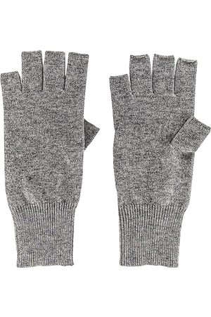 AUTUMN CASHMERE Fingerless Gloves in - Grey. Size all.