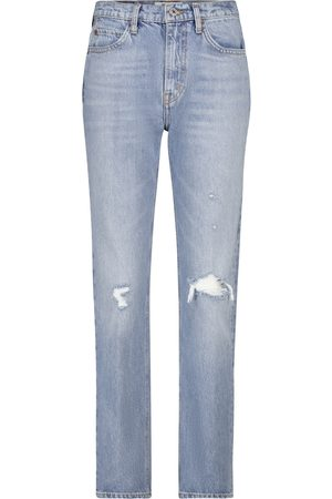 RE/DONE High-Rise Straight Jeans 70s