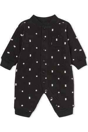 Burberry Star monogram-motif romper