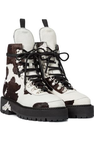OFF-WHITE Ankle Boots aus Ponyhaar
