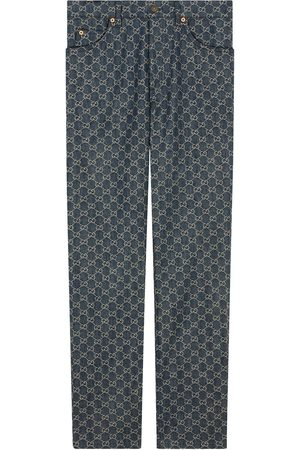 Gucci GG denim trousers