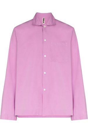 TEKLA Long-sleeve pajama shirt