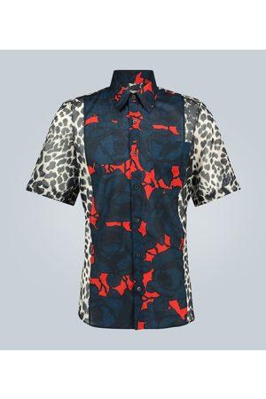 DRIES VAN NOTEN Bedrucktes Hemd aus Baumwolle