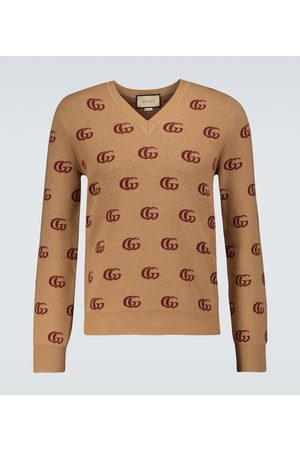 Gucci Jacquard-Pullover GG aus Wolle