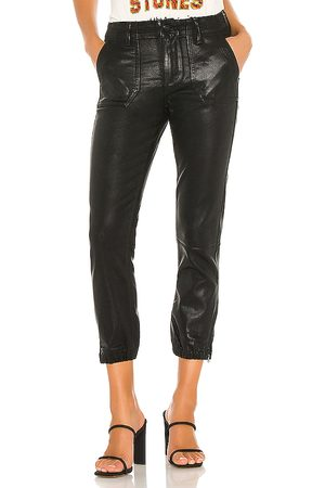 Paige Mayslie Jogger in - Black. Size 26 (also in 31).