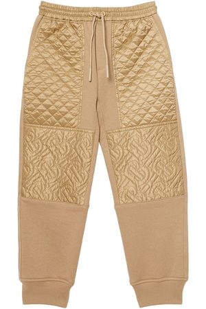 Burberry Quilted track pants