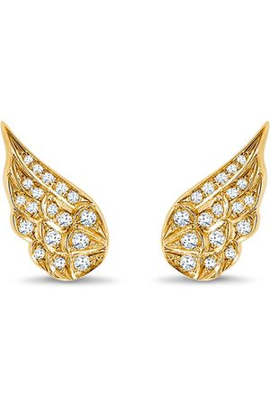 Pragnell 18kt yellow diamond Tiara earrings