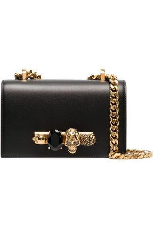 Alexander McQueen Mini jewelled shoulder bag