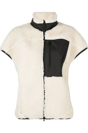 3.1 Phillip Lim Damen Westen - Sherpa bonded cocoon vest