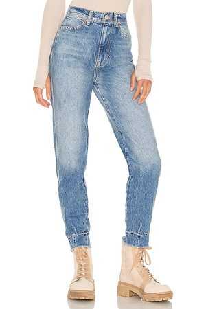 Free People Marion High Waisted Jean in - Blue. Size 25 (also in 26, 27, 28, 29, 30, 31).