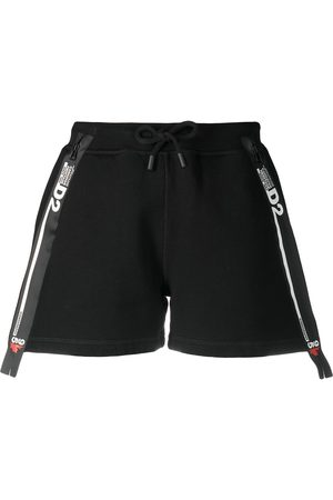 Dsquared2 Logo-tape track shorts
