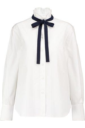 Chloé Bluse aus Baumwolle