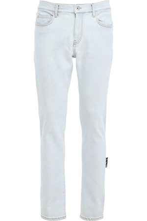 OFF-WHITE Herren Stretch - Enge Jeans Aus Stretch-denim