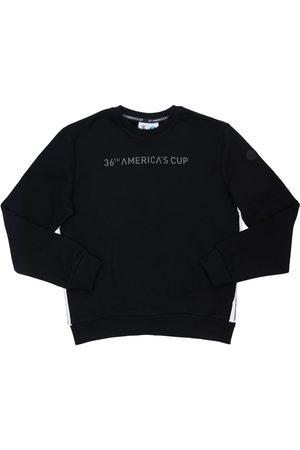 North Sails Herren Sweatshirts - Sweatshirt Aus Baumwolle Mit Logodruck