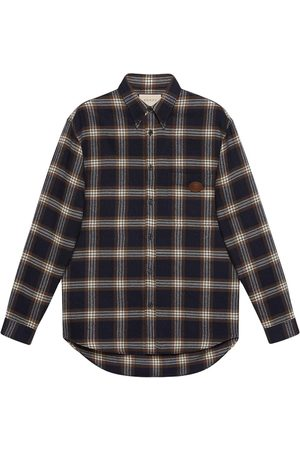 Gucci Plaid buttoned shirt