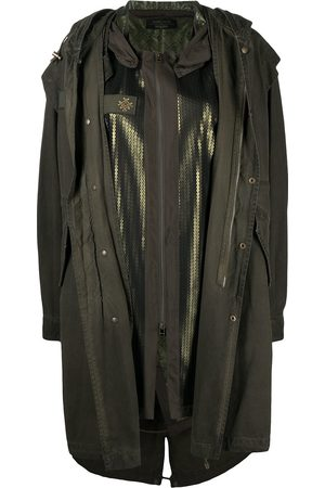 Mr & Mrs Italy X Audrey Tritto sequin-embellished parka