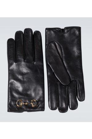 Gucci Horsebit-Handschuhe aus Leder