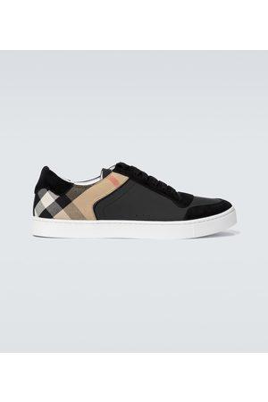 Burberry Karierte Sneakers Reeth