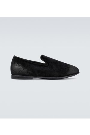Dolce & Gabbana Exklusiv bei Mytheresa – Loafers aus Samt