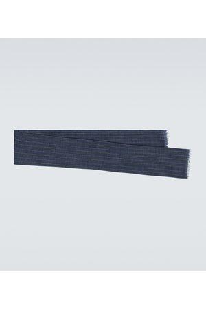 Brunello Cucinelli Schal aus Seide und Leinen