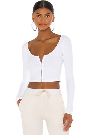 superdown Jackie Long Sleeve Top in - . Size L (also in M, S, XL, XS, XXS).