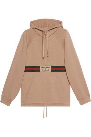 Gucci Web-detail hoodie