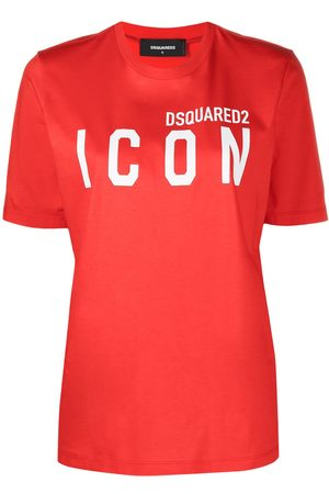 Dsquared2 Icon-print crew-neck T-shirt