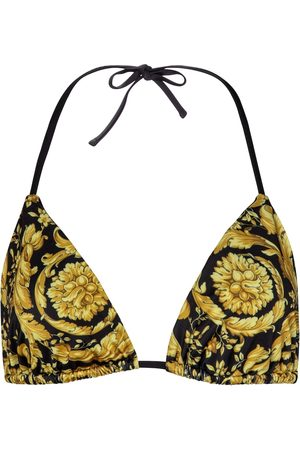 VERSACE Bikini-Oberteil Barocco
