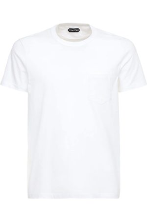 Tom Ford T-shirt Aus Baumwolljersey