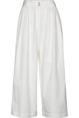 Etro Cropped-Hose aus Baumwolle