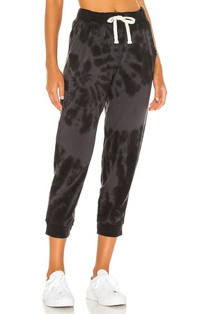 Electric & Rose Abott Kinney Sweatpant in - Black. Size L (also in M, S, XS).