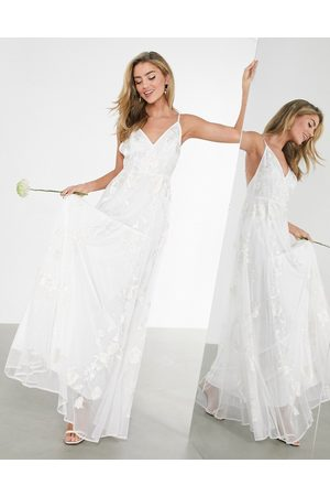 ASOS Isla embroidered cami wedding dress