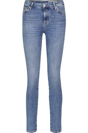 AG Jeans High-Rise Slim Jeans Mari