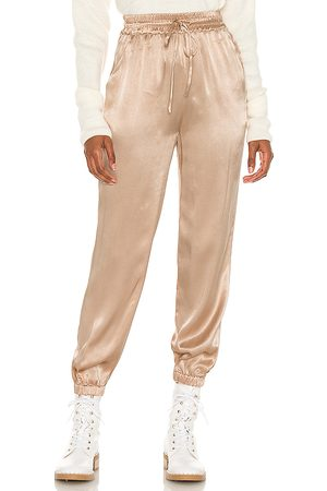 Lovers + Friends Maelle Jogger in - Beige. Size S (also in XS, XXS).